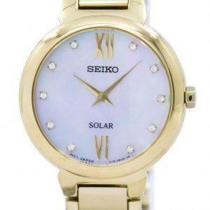 Seiko Solar Diamond Accent SUP384 SUP384P1 SUP384P Women's Watch