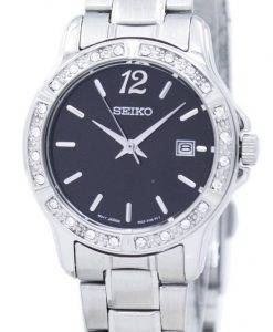Seiko Analog Quartz Diamond Accent SUR719 SUR719P1 SUR719P Women's Watch