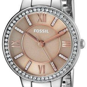 Fossil Virginia Quartz Diamond Accent ES4147 Women's Watch