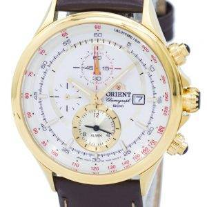 Orient Chronograph Tachymeter Alarm Quartz FTD0T001N0 Men's Watch