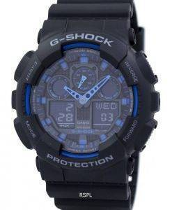 Casio G-Shock World Time Alarm GA-100-1A2 GA-100 Watch