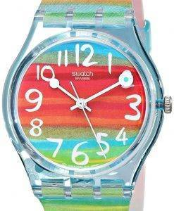 Swatch Originals Color The Sky Quartz GS124 Unisex Watch