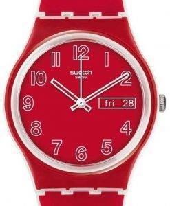 Swatch Originals Poppy Field Quartz GW705 Unisex Watch