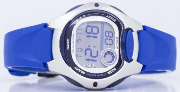 Casio Illuminator Dual Time Digital LW-200-2AVDF LW200-2AVDF Women's Watch