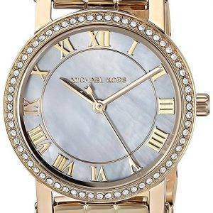Michael Kors Petite Norie Quartz Diamond Accent MK3682 Women's Watch