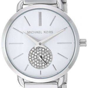 Michael Kors Petite Portia Quartz Diamond Accent MK3837 Women's Watch