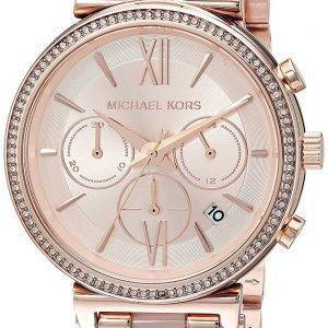 Michael Kors Sofie Chronograph Quartz Diamond Accent MK6560 Women's Watch