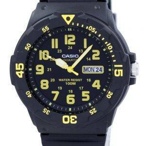 Casio Quartz Analog Black Dial MRW-200H-9BVDF MRW-200H-9BV Mens Watch
