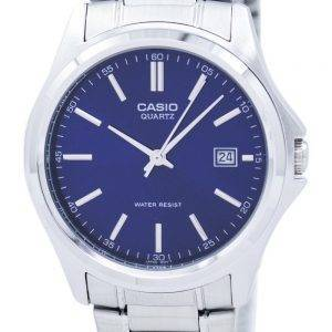 Casio Quartz Analog Stainless Steel Blue Dial MTP-1183A-2ADF MTP-1183A-2A Mens Watch