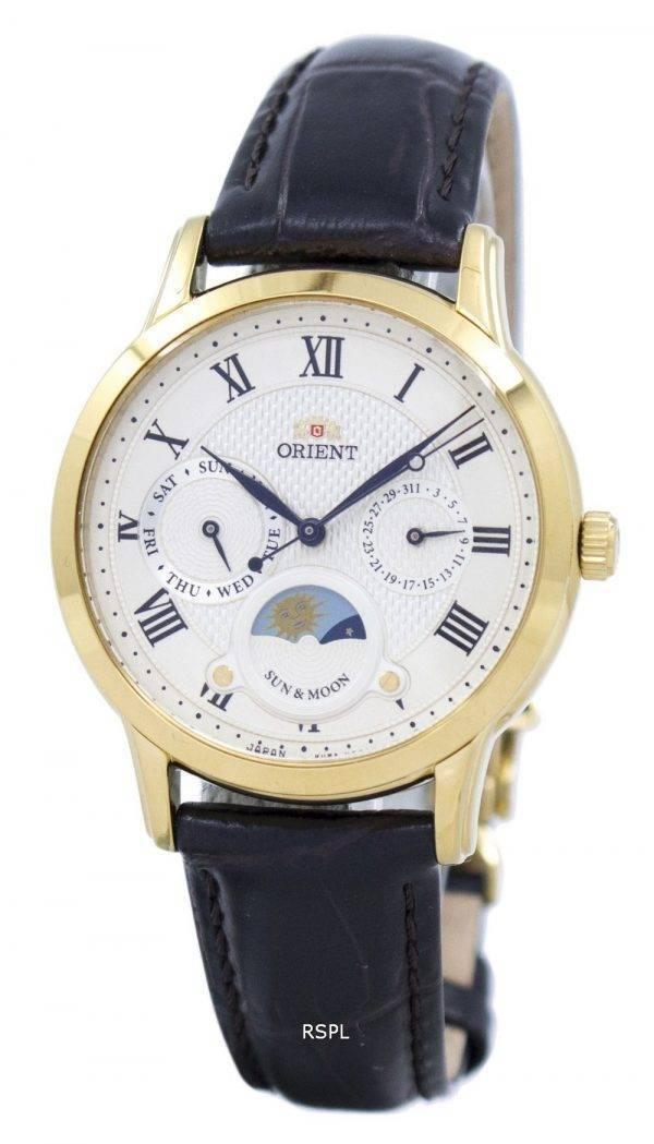 Orient Classic Quartz 'Sun & Moon' Japan Made RA-KA0003S00C Women's Watch