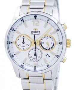 Orient Sports Chronograph Quartz Japan Made RA-KV0003S00C Men's Watch