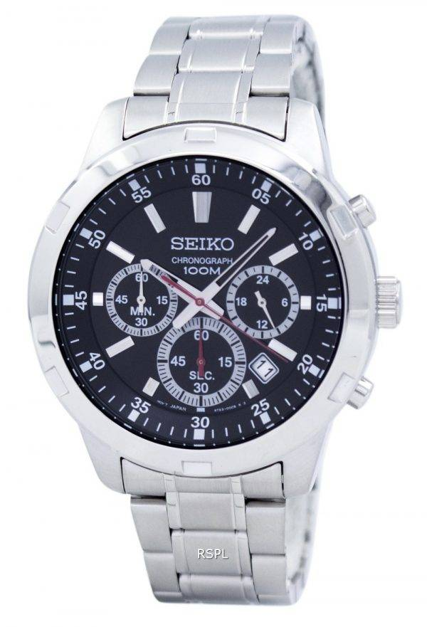 Seiko Chronograph Quartz SKS605 SKS605P1 SKS605P Men's Watch