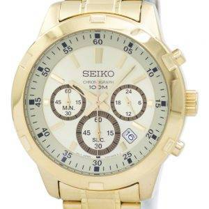 Seiko Chronograph Quartz SKS610 SKS610P1 SKS610P Men's Watch