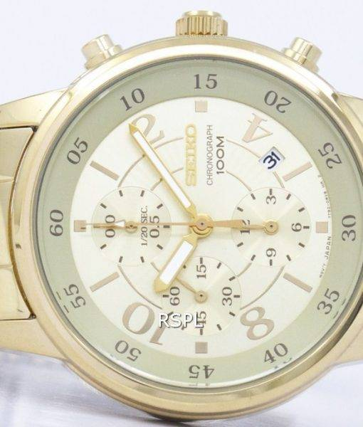 Seiko Chronograph Quartz SNDW84 SNDW84P1 SNDW84P Women's Watch
