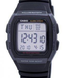 Casio Youth Digital Illuminator W-96H-1BVDF W-96H-1BV Mens Watch