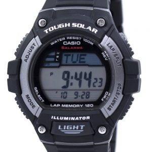 Casio Digital Tough Solar 5 Alarms W-S220-1AVDF Mens Watch