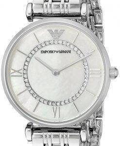 Emporio Armani Classic Quartz Diamond Accent AR1908 Women's Watch