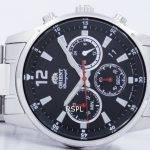 Orient Sports Chronograph Quartz Japan Made RA-KV0001B00C Men's Watch 5