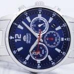 Orient Sports Chronograph Quartz Japan Made RA-KV0002L00C Men's Watch 5