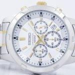 Seiko Chronograph Quartz SKS607 SKS607P1 SKS607P Men's Watch 4