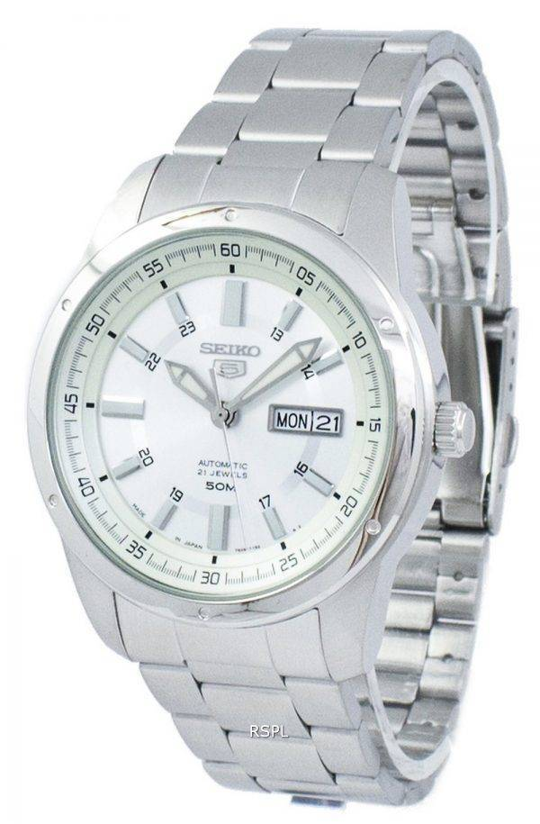 Seiko 5 Automatic Japan Made SNKN09 SNKN09J1 SNKN09J Men's Watch