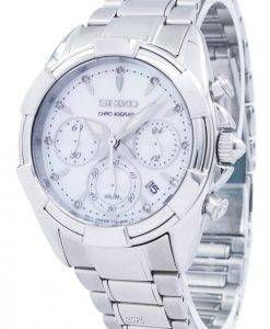 Seiko Chronograph Quartz SRW807 SRW807P1 SRW807P Women's Watch
