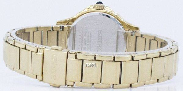 Seiko Quartz Diamond Accent SRZ488 SRZ488P1 SRZ488P Women's Watch