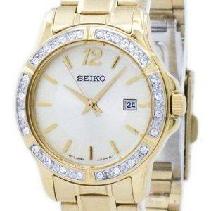 Seiko Quartz Diamond Accent SUR714 SUR714P1 SUR714P Women's Watch