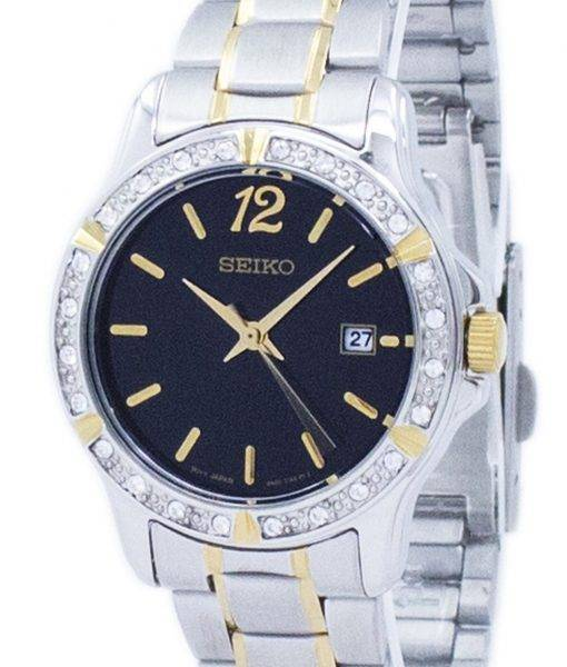 Seiko Quartz Diamond Accent SUR716 SUR716P1 SUR716P Women's Watch