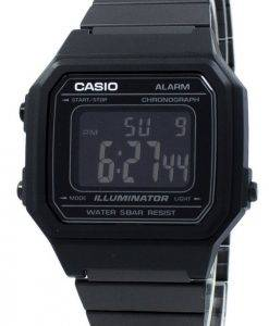 Casio Illuminator Chronograph Alarm Digital B650WB-1B Unisex Watch