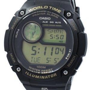 Casio Illuminator World Time Prayer Alarm Digital CPA-100-9A CPA100-9A Men's Watch