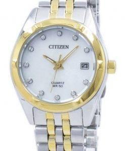 Citizen Eco-Drive Diamond Accent EU6054-58D Women's Watch