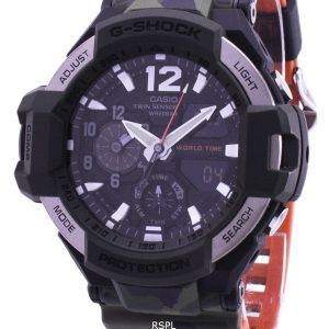 Casio G-Shock Gravitymaster Twin Sensor World Time GA-1100SC-3A GA1100SC-3A Men's Watch