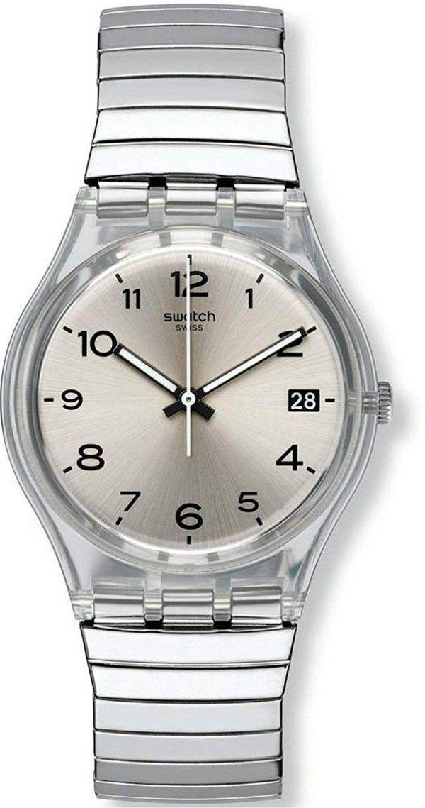 Swatch Originals Silverall Analog Quartz GM416B Unisex Watch