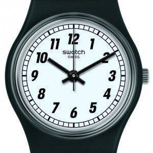 Swatch Originals Something Black Analog Quartz LB184 Women's Watch