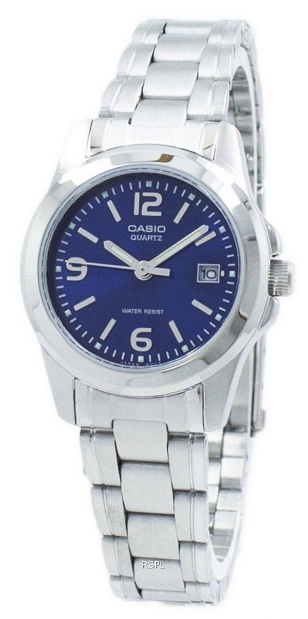 Casio Analog Quartz LTP-1215A-2A2 LTP1215A-2A2 Women's Watch