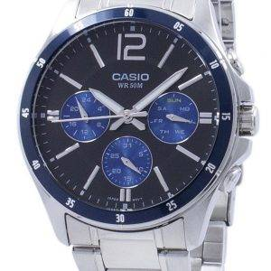 Casio Enticer Analog Quartz MTP-1374D-2AV MTP1374D-2AV Men's Watch