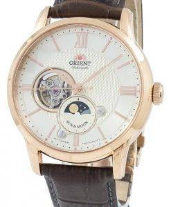 Orient Classic Sun & Moon Open Heart Automatic Japan Made RA-AS0003S10B Men's Watch