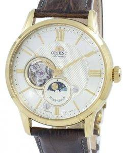 Orient Classic Sun & Moon Open Heart Automatic Japan Made RA-AS0004S10B Men's Watch