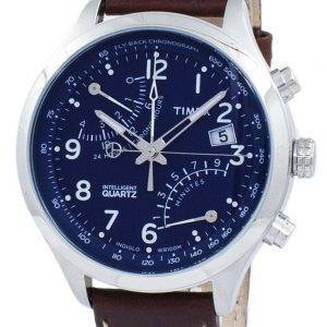 Timex Intelligent Fly-Back Chronograph Quartz Indiglo TW2P78800 Men's Watch