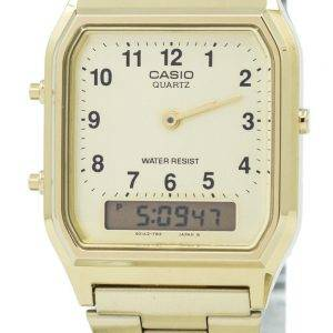 Casio Quartz Analog-Digital AQ-230GA-9B Men's Watch