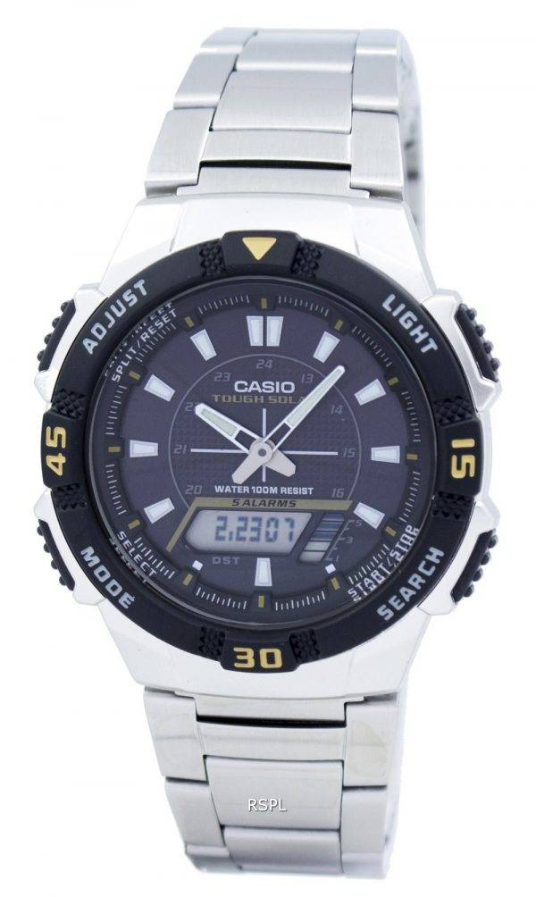 Casio Analog Digital Tough Solar AQ-S800WD-1EVDF AQ-S800WD-1EV Mens Watch