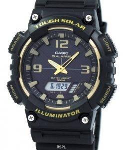 Casio Tough Solar 5 Alarms 100M AQ-S810W-1A3V Men's Watch