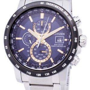 Citizen Eco-Drive Radio Controlled Chronograph AT8124-83M Men's Watch
