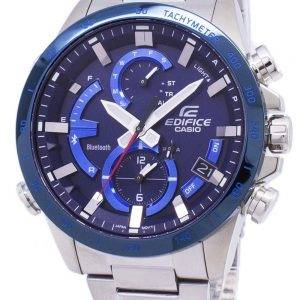 Casio Edifice Bluetooth Tough Solar Dual Time EQB-900DB-2A EQB900DB-2A Men's Watch