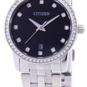 Citizen Quartz Diamond Accent EU6030-56E Women's Watch