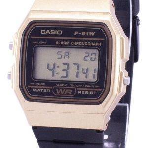 Casio Vintage Chronograph Quartz Alarm F-91WM-9A F91WM-9A Unisex Watch