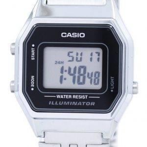 Casio Digital Quartz Illuminator LA680WA-1DF LA680WA-1 Womens Watch