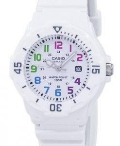 Casio Enticer Analog White Dial LRW-200H-7BVDF LRW-200H-7BV Womens Watch