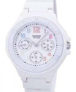 Casio Analogue White Resin Strap LRW-250H-7BVDF LRW-250H-7BV Ladies Watch